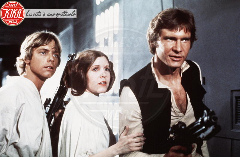Carrie Fisher, Mark Hamill, Harrison Ford - Los Angeles - 23-02-2017 - Alden Ehrenreich sarà Han Solo in uno spin off di Star Wars