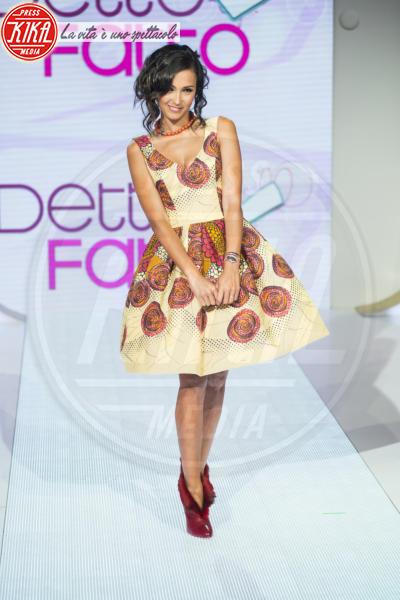 Caterina Balivo - Milano - 04-09-2014 - Mini o longuette, ma pieno di fiori: è l'abito della primavera!