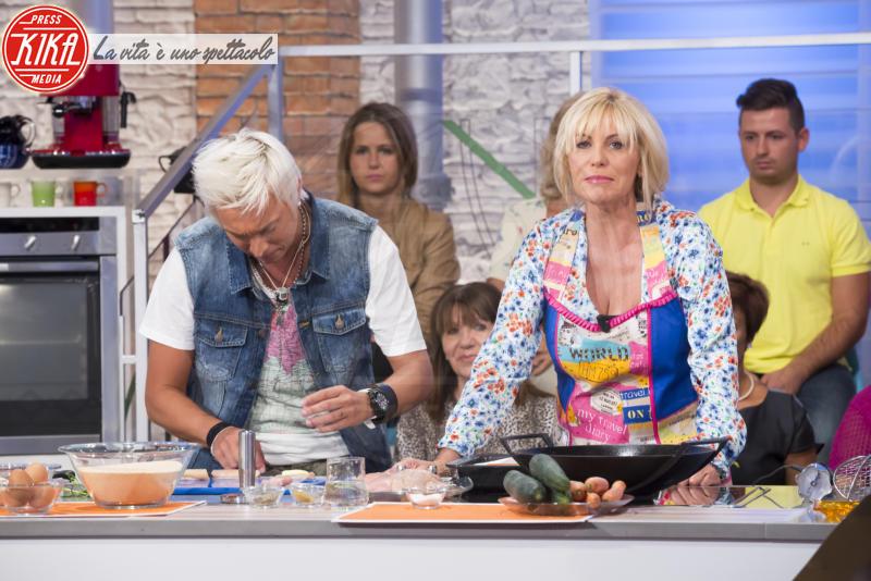 Andrea Mainardi, Antonella Clerici - Roma - 08-09-2014 - Rita Dalla Chiesa, new entry della Prova del cuoco