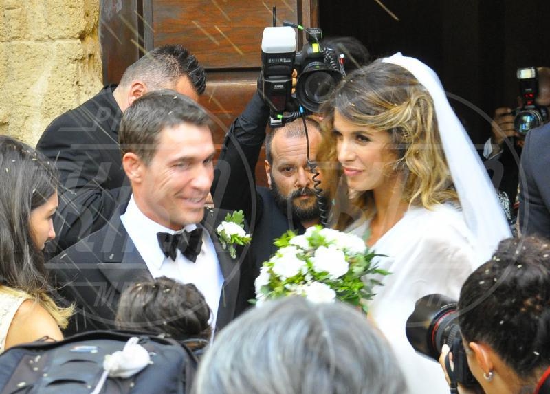 Brian Perri, Elisabetta Canalis - Alghero - 13-09-2010 - Elisabetta Canalis: imbronciata per le nozze annullate