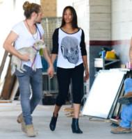 Marco Perego, Zoe Saldana - Los Angeles - 15-09-2014 - La principessa Charlene ha fatto il bis! Sono gemelli!