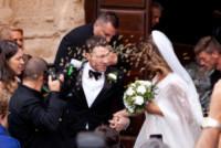 Brian Perri, Elisabetta Canalis - Alghero - 14-09-2014 - Elisabetta Canalis: imbronciata per le nozze annullate