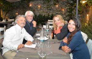 Massimo Ferrero, Simona Izzo, Ricky Tognazzi - Santa Margherita Ligure - 04-09-2014 - Non solo Amadeus e Fiorello, quanto aiuta l'amicizia!