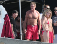 Ken Jeong, David Hasselhoff - Los Angeles - 23-09-2014 - Baywatch: com'erano gli attori ieri e come sono oggi