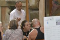 Todd Howard, Leo Howard - Roma - 21-09-2014 - Leo Howard è deliziato dalla cucina italiana