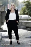 Katia Follesa - Milano - 01-10-2014 - Questo autunno copriamoci, ma sveliamo le caviglie