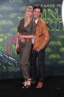 Sabrina Gehrmann, Tobey Wilson - Berlino - 05-10-2014 - Megan Fox: una femme fatale in nero per le Tartarughe Ninja