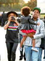 Blue Ivy, Jay Z, Beyonce Knowles - Parigi - 07-10-2014 - Quanta felicitàBeyoncé-Jay Z: sarà vera?