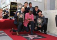 Jonathan Knight, Danny Wood, New Kids on the Block, Arsenio Hall, Donnie Wahlberg, Joey McIntyre, Jordan Knight - Hollywood - 09-10-2014 - La stella dei New Kids on the Block brilla sulla Walk of Fame