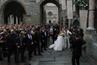 Michelle Hunziker - Bergamo - 10-10-2014 - Michelle e Tomaso sono marito e moglie [VIDEO]