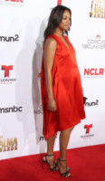 Zoe Saldana - Los Angeles - 10-10-2014 - Pancione in vista per la bellissima Zoe Saldana