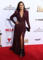 Adriana Fonseca - Los Angeles - 10-10-2014 - Pancione in vista per la bellissima Zoe Saldana
