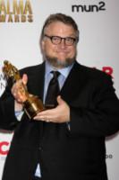 Guillermo del Toro - Pasadena - 11-10-2014 - Pancione in vista per la bellissima Zoe Saldana