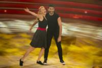 Kelly Lang, Simone Di Pasquale - Roma - 11-10-2014 - Ballando con le stelle: imprevisto per Giusy Versace