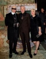 Karl Lagerfeld, Baz Luhrmann - New York - 13-10-2014 - Chanel N.5: Gisele Bundchen sulla scia di Marilyn