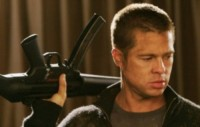 "Mr. and Mrs. Smith, Mr., Brad Pitt - Los Angeles - 16-10-2014 - Brad Pitt: ""Il primo fucile quando ero alla scuola materna"""
