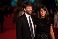 Michela Di Biase, Dario Franceschini - Roma - 15-10-2014 - Festival di Roma: Lucci bacia il sedere della Marini