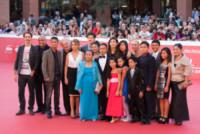 Cast, Davide Iacopini, Andrea Bosca, Giorgio Colangeli - Roma - 18-10-2014 - Festival di Roma: il red carpet di A tutto tondo