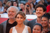 Andrea Bosca, Paola Minaccioni, Giorgio Colangeli - Roma - 18-10-2014 - Festival di Roma: il red carpet di A tutto tondo