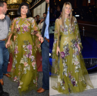 Anna Dello Russo, Lady Gaga - 20-10-2014 - Mini o longuette, ma pieno di fiori: è l'abito della primavera!