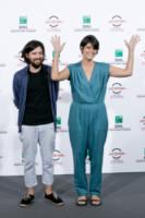 Laura Amelia Guzman, Israel Cardenas - Roma - 20-10-2014 - La tuta glam-chic conquista le celebrity
