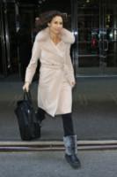 Minnie Driver - New York - 25-02-2014 - L'inverno è più romantico con il cappotto rosa!