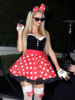 Paris Hilton - Hollywood - 24-10-2014 - Ad Halloween le star si vestono così