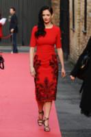 Eva Green - Londra - 05-11-2014 - Natale 2014: ritorna il rosso, di sera e anche di giorno