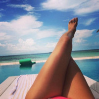 Irina Shayk - Milano - 08-11-2014 - A piedi nudi da te: le star mostrano i loro piedini
