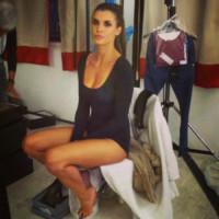 Elisabetta Canalis - Milano - 08-11-2014 - A piedi nudi da te: le star mostrano i loro piedini