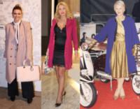 Elena Barolo, Valeria Marini, Helen Mirren - 18-11-2014 - L'inverno è più romantico con il cappotto rosa!