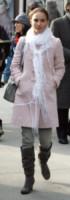 Natalie Portman - New York - 07-12-2009 - L'inverno è più romantico con il cappotto rosa!