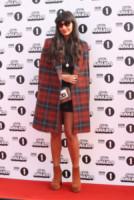 Jameela Jamil - Londra - 19-10-2014 - Basta tinta unita! Colora l'inverno con un cappotto fantasia!
