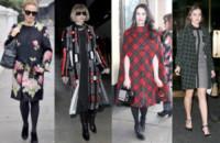 Kate Nash, Hailee Steinfeld, Anna Wintour, Kylie Minogue - 21-11-2014 - Basta tinta unita! Colora l'inverno con un cappotto fantasia!