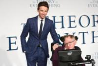 Stephen Hawking, Eddie Redmayne - Londra - 09-12-2014 - Oscar 2015: Eddie Redmayne è il miglior attore