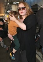 Angelo Konecki, Adele Adkins - Los Angeles - 03-01-2015 - Adele, quanto è bella la vita da mamma!
