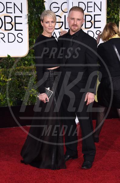 Robin Wright, Ben Foster - Beverly Hills - 12-01-2015 - Golden Globe 2015: va in scena il gioco delle coppie
