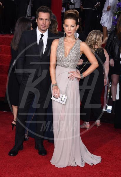 Len Wiseman, Kate Beckinsale - Beverly Hills - 12-01-2015 - Golden Globe 2015: va in scena il gioco delle coppie