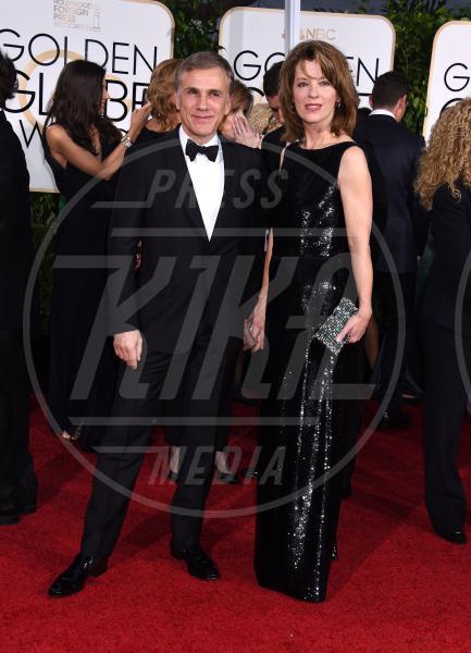 Christoph Waltz - Beverly Hills - 12-01-2015 - Golden Globe 2015: va in scena il gioco delle coppie