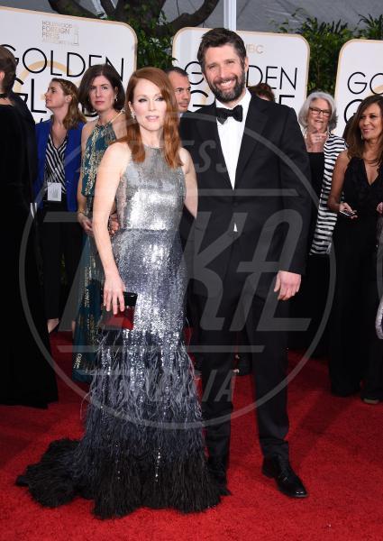 Bart Freundlich, Julianne Moore - Beverly Hills - 11-01-2015 - Golden Globe 2015: va in scena il gioco delle coppie