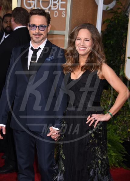 Susan Downey, Robert Downey Jr - Beverly Hills - 11-01-2015 - Robert Downey Jr. lavora a una serie tv su Perry Mason