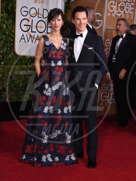 Sophie Hunter, Benedict Cumberbatch - Beverly Hills - 11-01-2015 - Golden Globe 2015: va in scena il gioco delle coppie