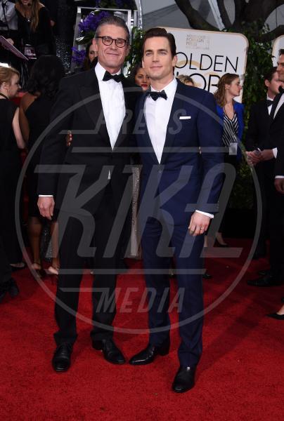 Simon Halls, Matt Bomer - Beverly Hills - 11-01-2015 - Golden Globe 2015: va in scena il gioco delle coppie
