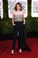 2015 -, Emma Stone - Beverly Hills - 11-01-2015 - Golden Globe 2015: argento vivo sul red carpet