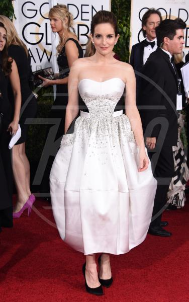 Tina Fey - Beverly Hills - 11-01-2015 - Golden Globes 2015: c'è posto anche per la longuette!