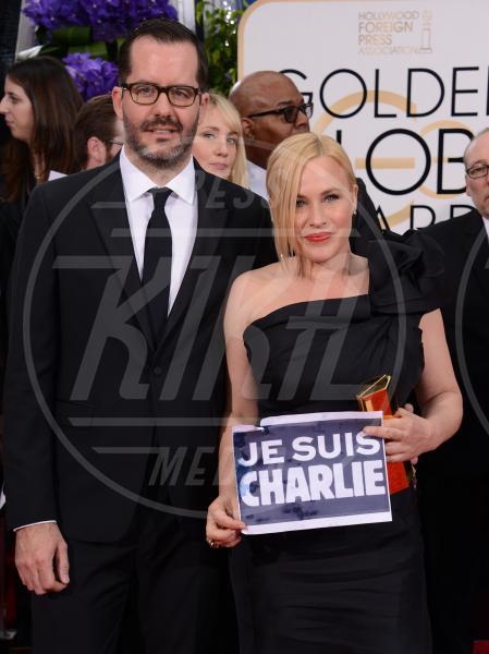 Patricia Arquette - Beverly Hills - 11-01-2015 - Golden Globe 2015: va in scena il gioco delle coppie