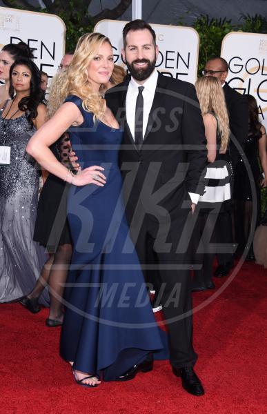 Katherine Heigl - Beverly Hills - 11-01-2015 - Golden Globe 2015: va in scena il gioco delle coppie