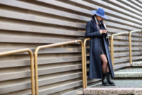 Alexandra de Tomaso - Firenze - 14-01-2015 - Pitti 87: i dandy italiani si mettono in mostra