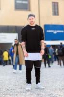 Ben Lamprey - Firenze - 14-01-2015 - Pitti 87: i dandy italiani si mettono in mostra