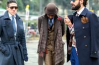 Ospiti - Firenze - 14-01-2015 - Pitti 87: i dandy italiani si mettono in mostra